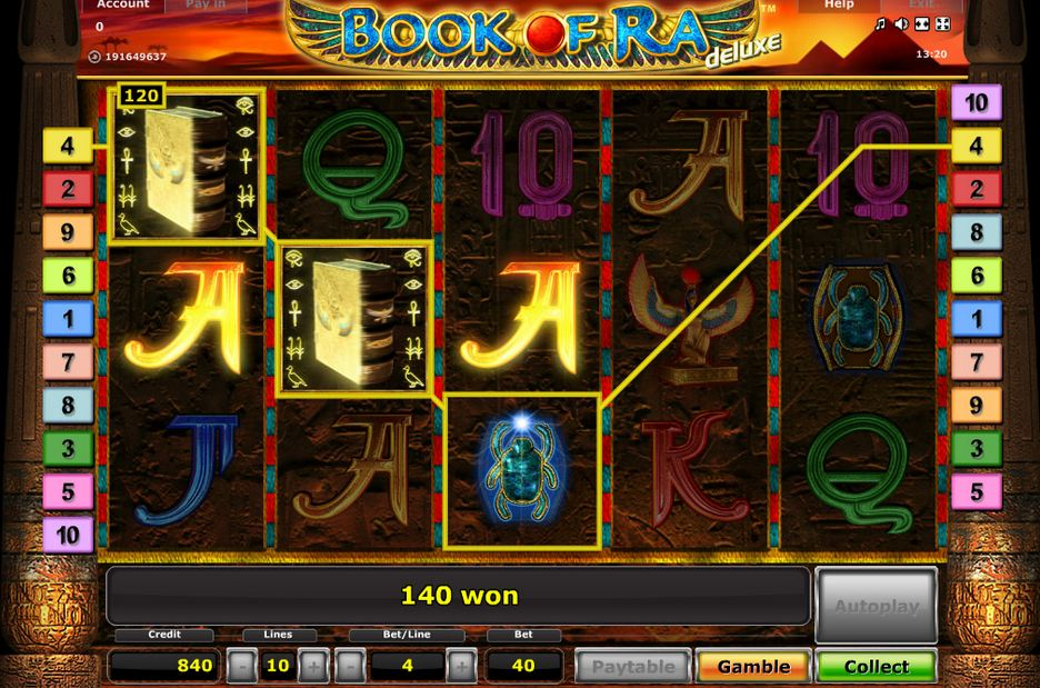 online casino book of ra kasino spiele